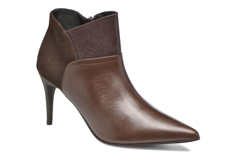 Bottines et boots Elizabeth Stuart Lebrac 536 Marron vue détail/paire