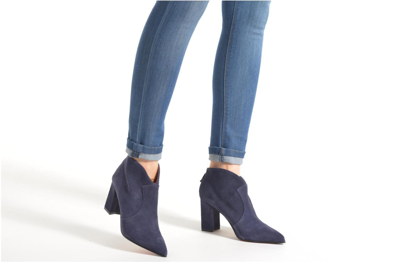 Ankle boots Elizabeth Stuart Boheme 334 Blue view from underneath / model view