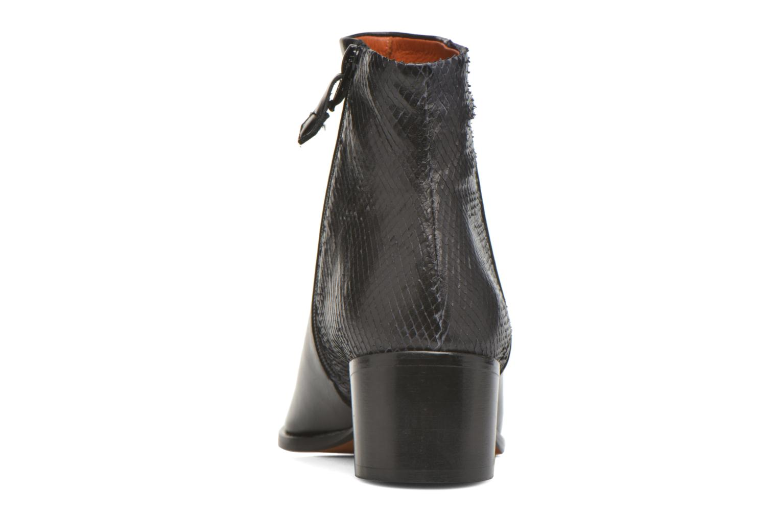 Ankle boots Elizabeth Stuart Havys 115 Black view from the right