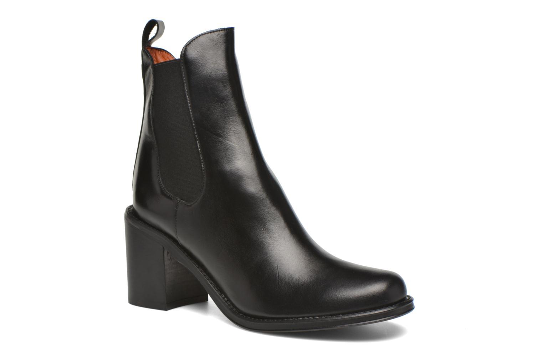 Ankle boots Elizabeth Stuart Sopra 304 Black detailed view/ Pair view