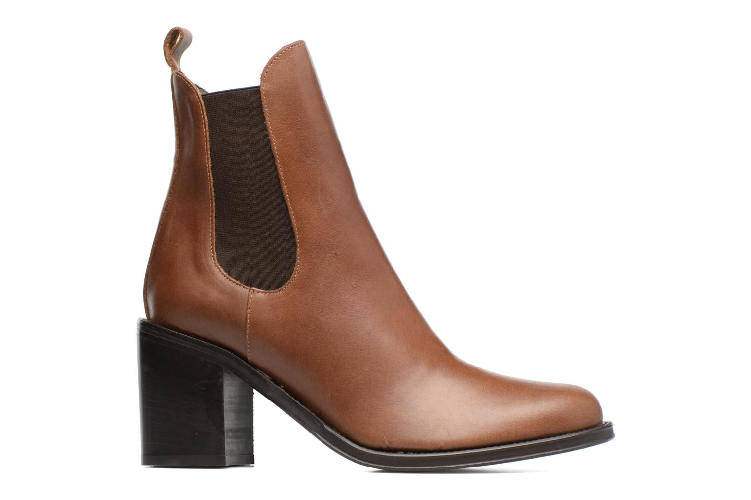 Ankle boots Elizabeth Stuart Sopra 304 Brown back view