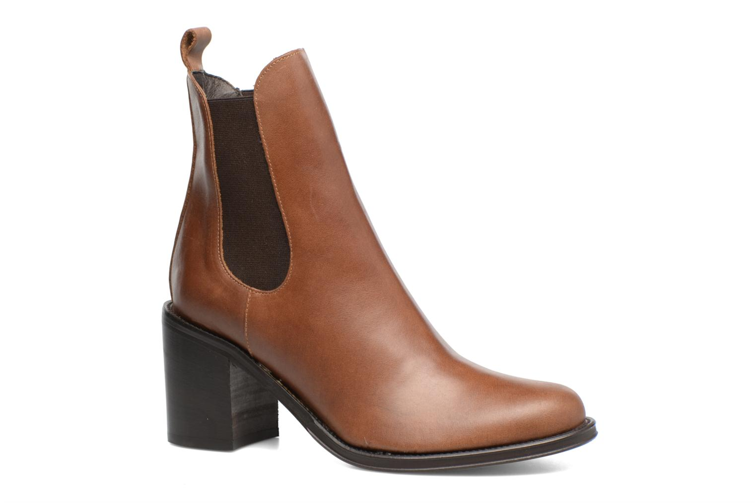 Ankle boots Elizabeth Stuart Sopra 304 Brown detailed view/ Pair view