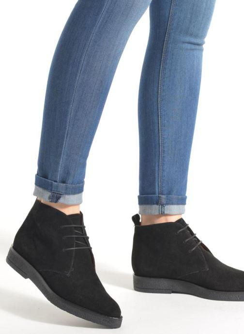 Zapatos con cordones Elizabeth Stuart Volta 334 Marrón vista de abajo