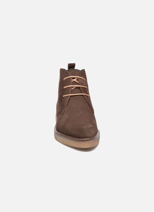 Chaussures à lacets Elizabeth Stuart Volta 334 Marron vue portées chaussures