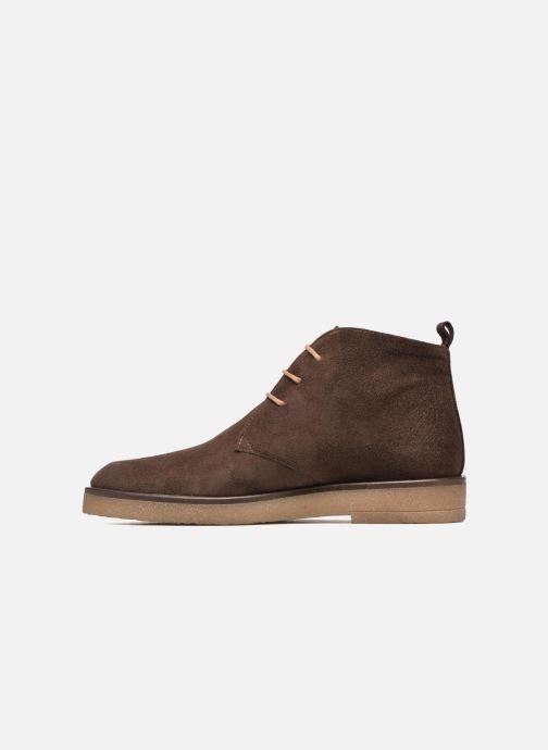 Chaussures à lacets Elizabeth Stuart Volta 334 Marron vue face