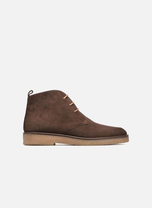 Chaussures à lacets Elizabeth Stuart Volta 334 Marron vue derrière