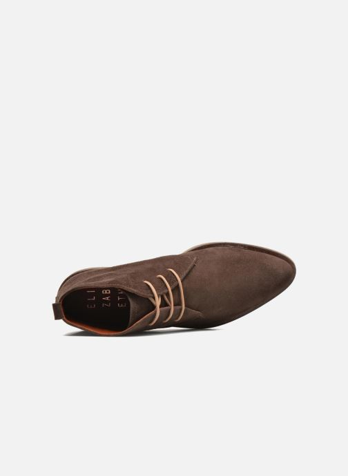 Zapatos con cordones Elizabeth Stuart Volta 334 Marrón vista lateral izquierda