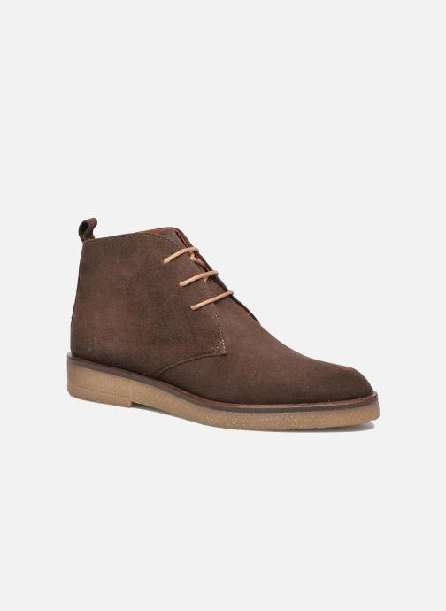 Chaussures à lacets Elizabeth Stuart Volta 334 Marron vue détail/paire