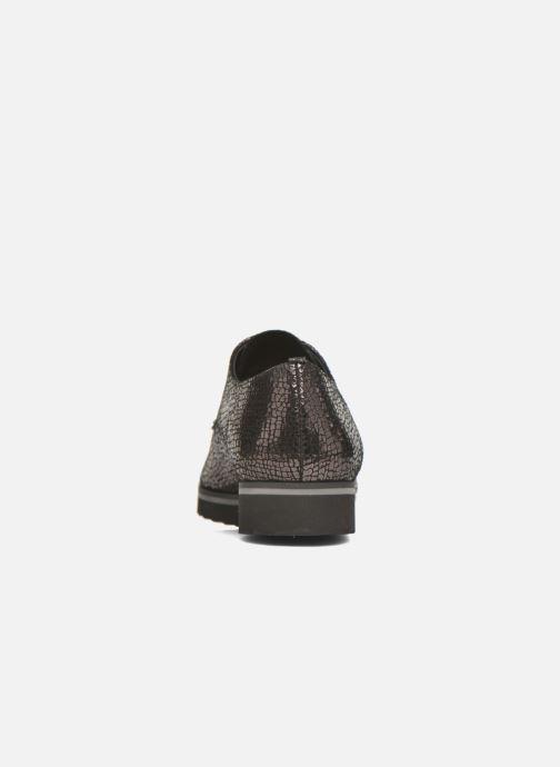 Zapatos con cordones Elizabeth Stuart Vutou 337 Negro vista lateral derecha