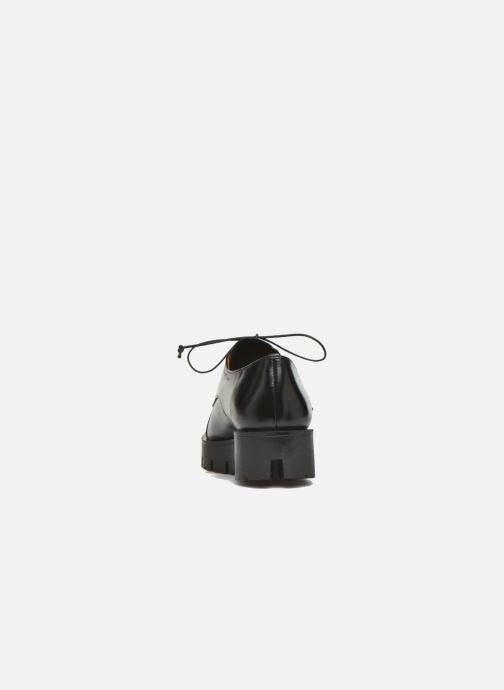 Zapatos con cordones Elizabeth Stuart Millau 304 Negro vista lateral derecha