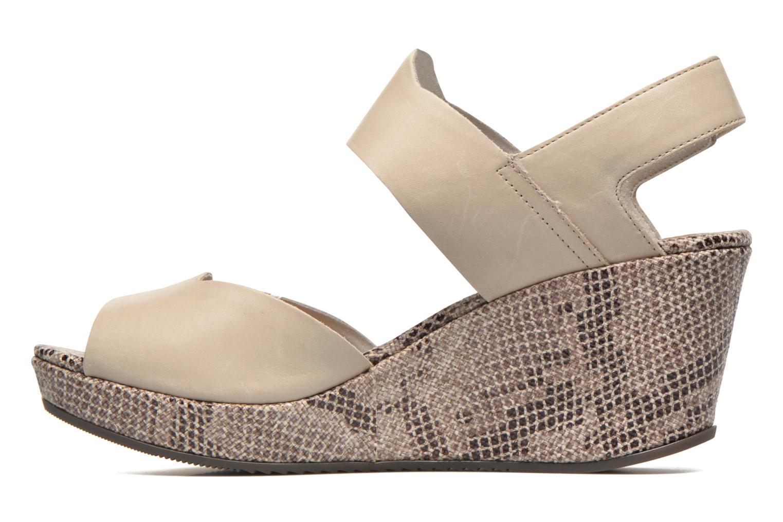 Sandales et nu-pieds Stonefly Marlene 13 Calf Beige vue face