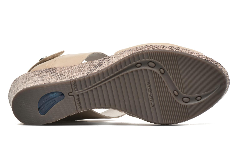 Sandales et nu-pieds Stonefly Marlene 13 Calf Beige vue haut