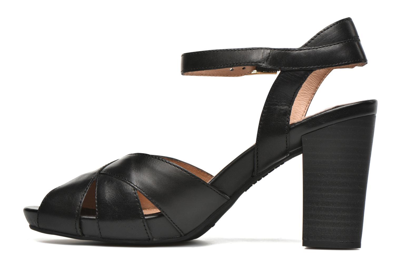 Sandales et nu-pieds Stonefly Diana 3 Calf Noir vue face
