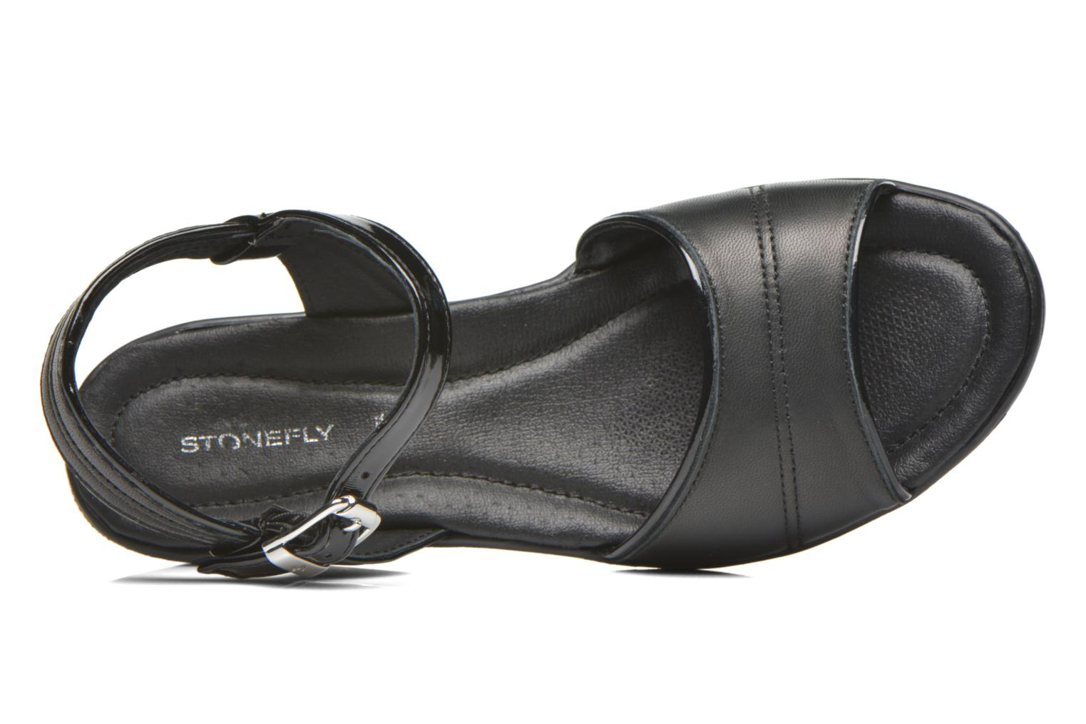 Sandals Stonefly Tess 1 Goat Black view from the left