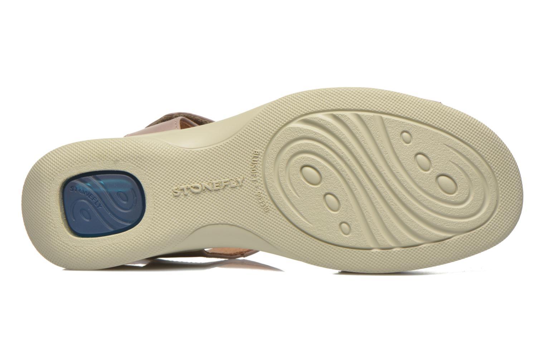 Sandales et nu-pieds Stonefly Aqua II 26 Beige vue haut
