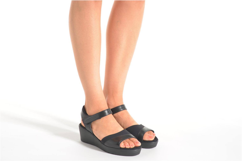 Sandales et nu-pieds Stonefly Tess 7 Noir vue bas / vue portée sac