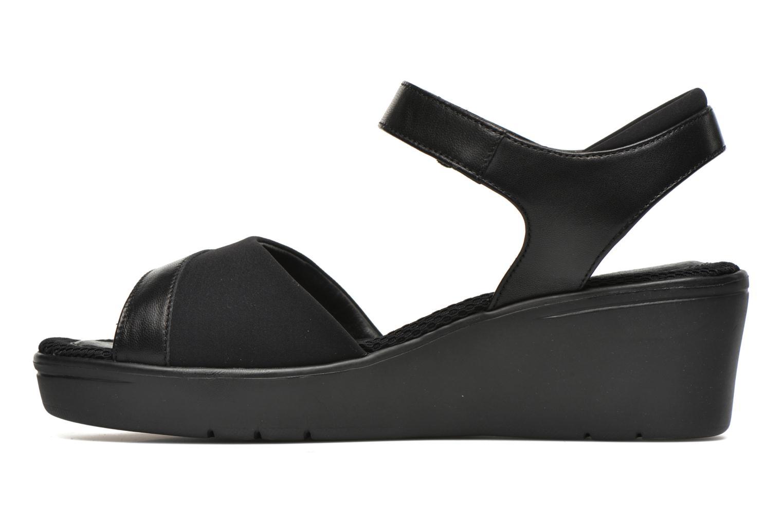 Sandales et nu-pieds Stonefly Tess 7 Noir vue face
