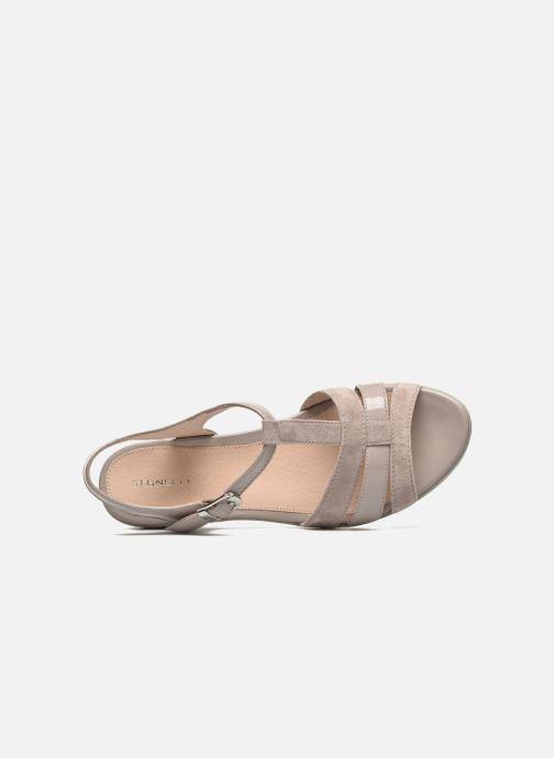 Sandales et nu-pieds Stonefly Vanity III 2 Go Beige vue gauche