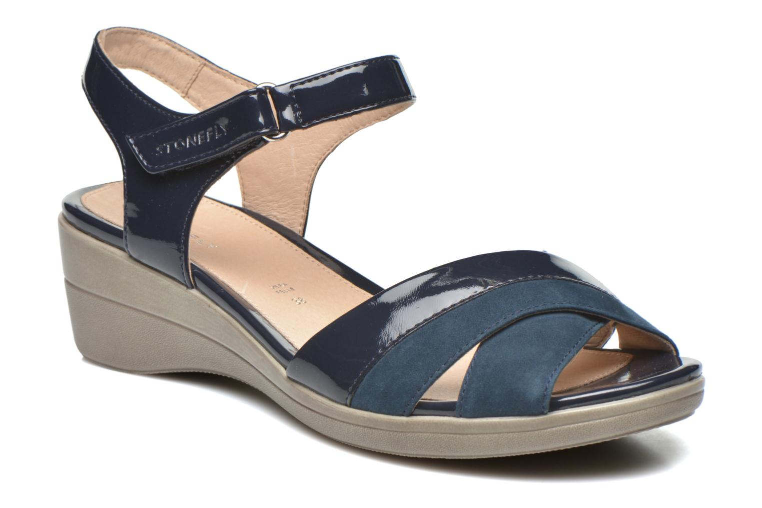 Sandals Stonefly Vanity III 3 Go Blue detailed view/ Pair view