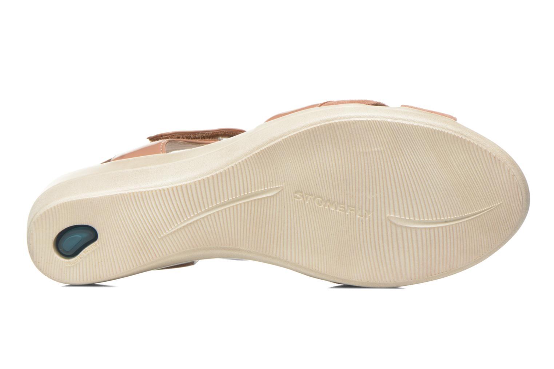 Sandales et nu-pieds Stonefly Vanity III 3 Go Beige vue haut