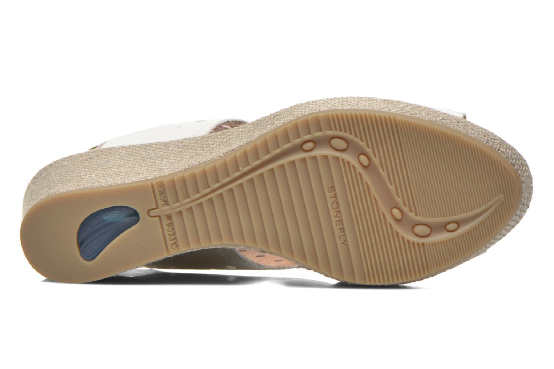 Sandales et nu-pieds Stonefly Marlene 19 Blanc vue haut