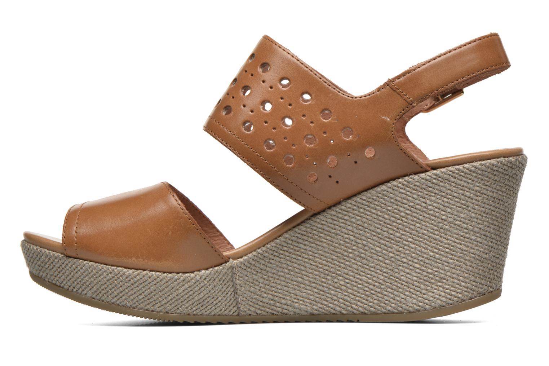 Sandales et nu-pieds Stonefly Marlene 19 Beige vue face
