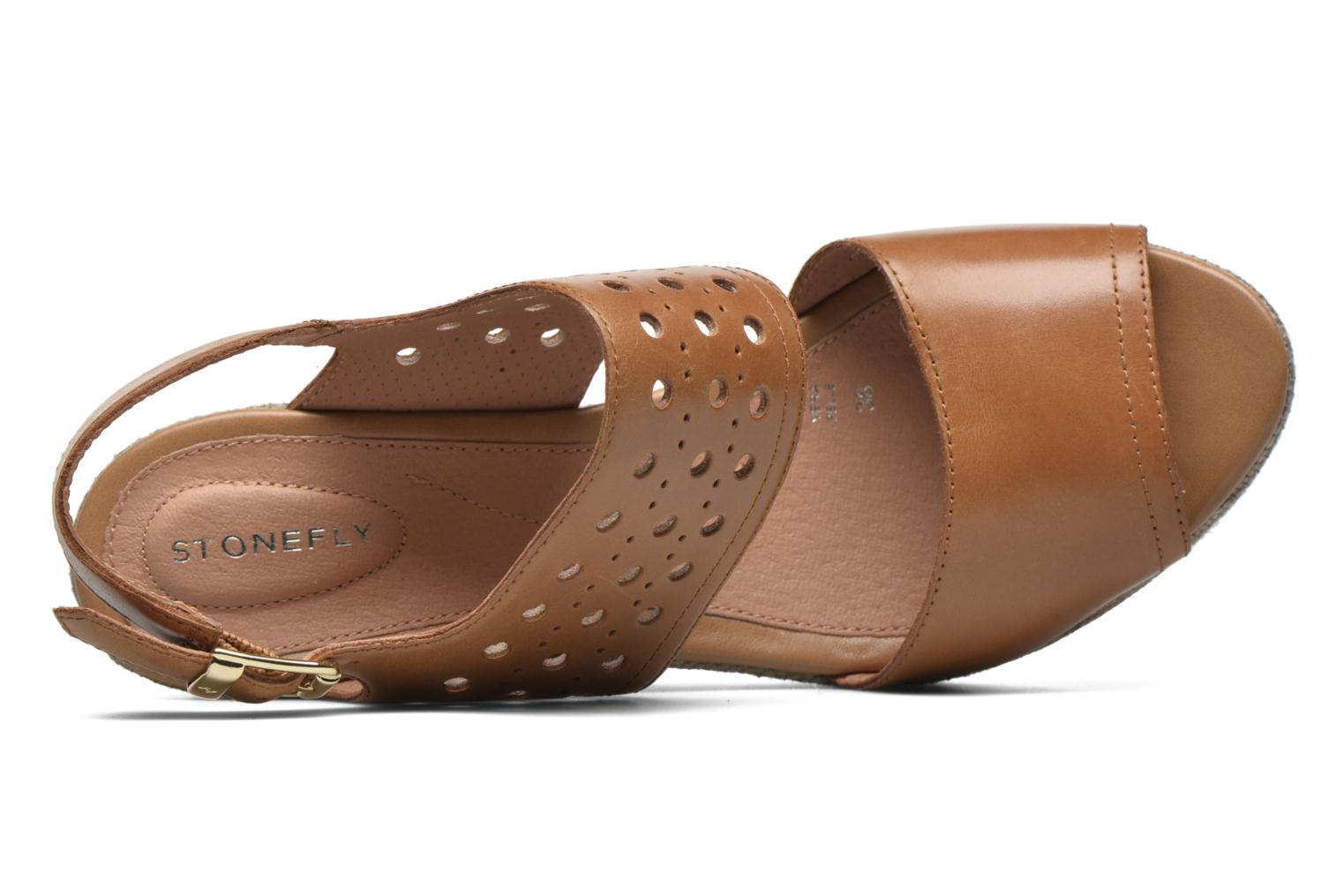 Sandals Stonefly Marlene 19 Beige view from the left