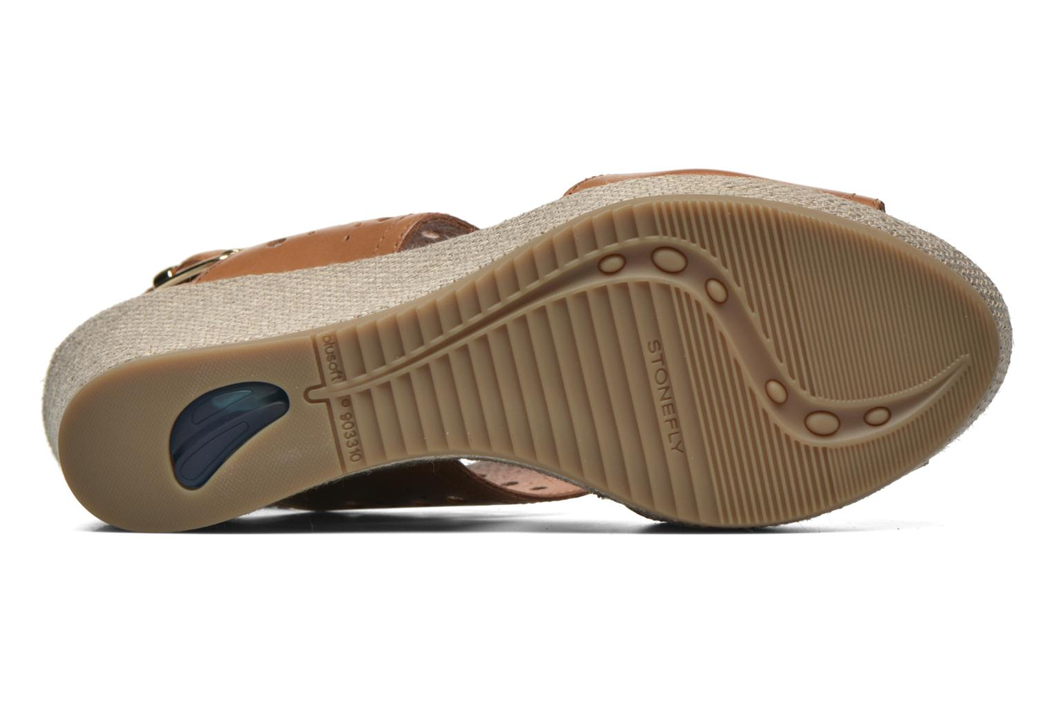 Sandals Stonefly Marlene 19 Beige view from above