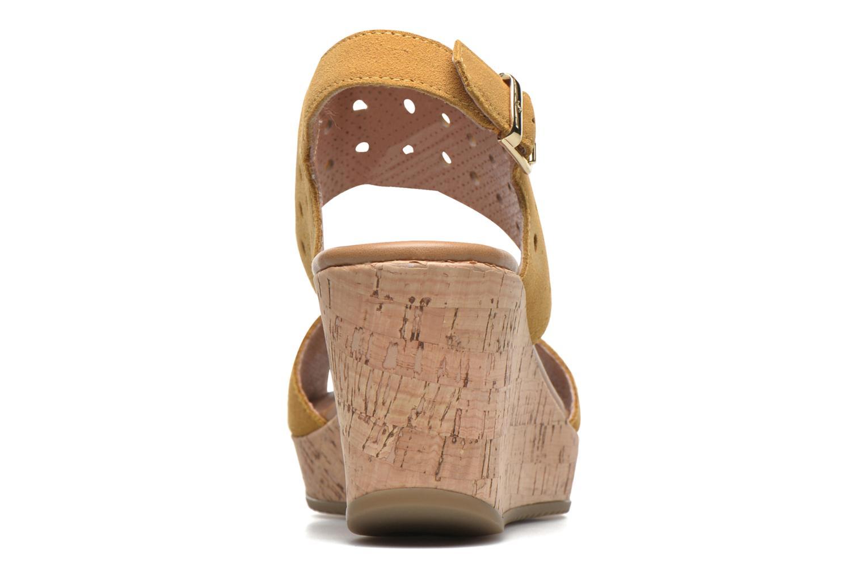 Sandales et nu-pieds Stonefly Marlene 19 Velour Jaune vue droite