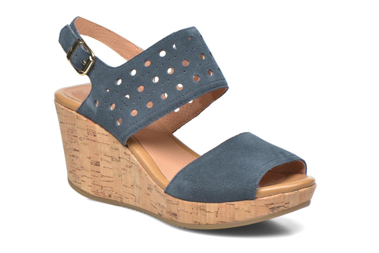 Sandales et nu-pieds Stonefly Marlene 19 Velour Bleu vue détail/paire