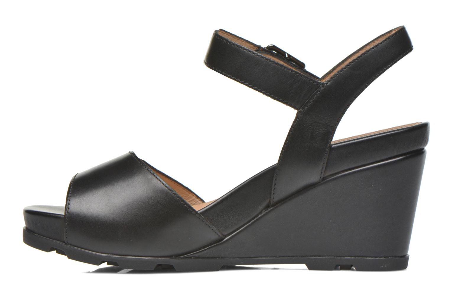 Sandals Stonefly Anita 1 Black front view