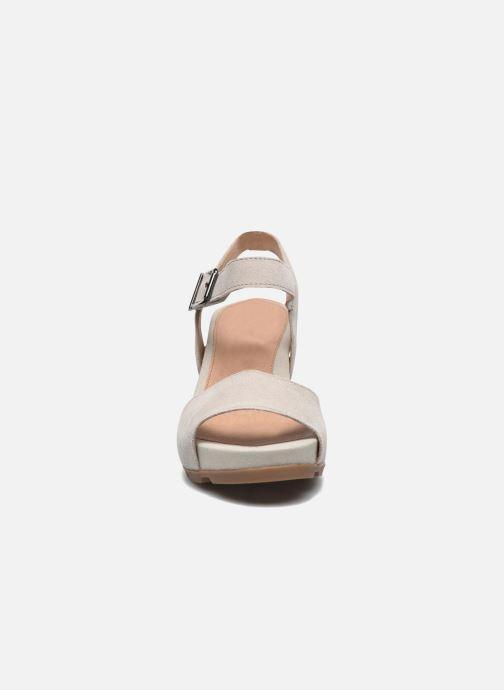 Sandales et nu-pieds Stonefly Anita 1 Velour Gris vue portées chaussures