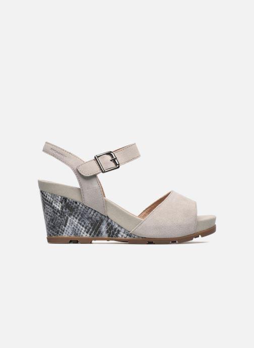 Sandales et nu-pieds Stonefly Anita 1 Velour Gris vue derrière