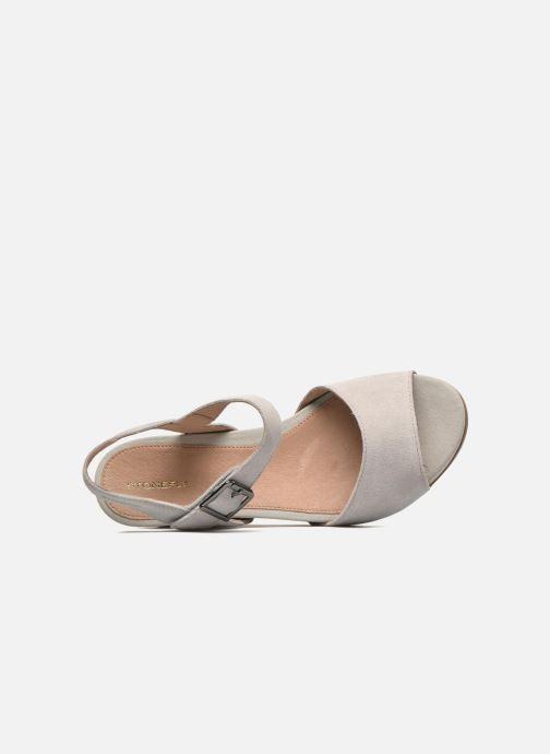 Sandales et nu-pieds Stonefly Anita 1 Velour Gris vue gauche