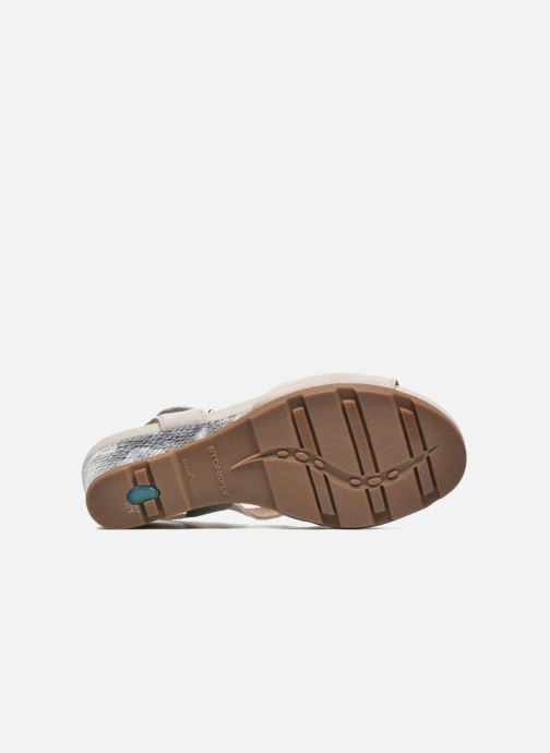 Sandales et nu-pieds Stonefly Anita 1 Velour Gris vue haut