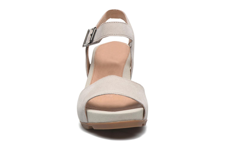 Sandals Stonefly Anita 1 Velour Grey model view