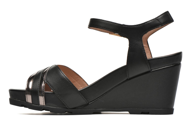 Sandales et nu-pieds Stonefly Anita 4 Noir vue face