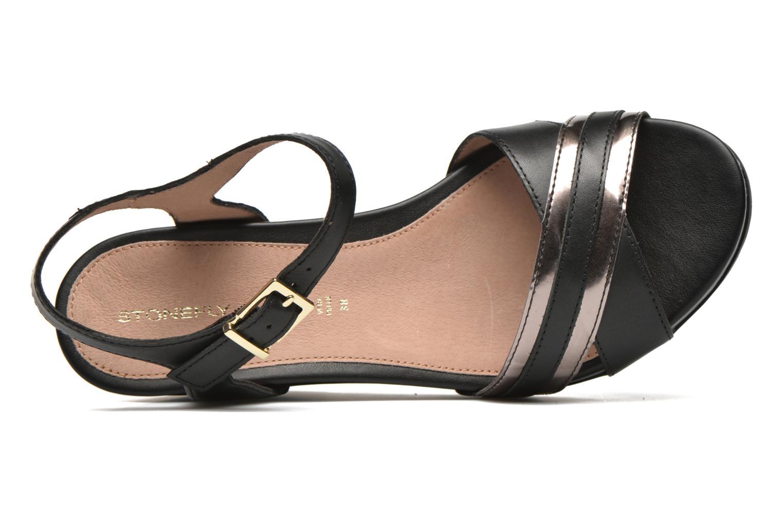 Sandales et nu-pieds Stonefly Anita 4 Noir vue gauche