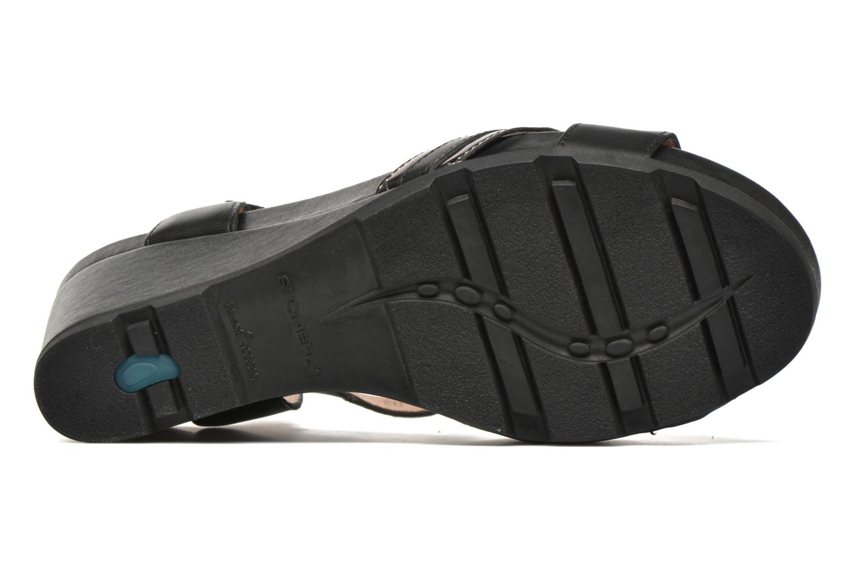 Sandales et nu-pieds Stonefly Anita 4 Noir vue haut