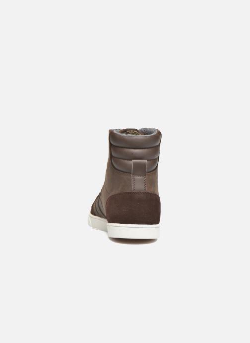 Sneaker Hummel Ten Star Mono Oiled High braun ansicht von rechts