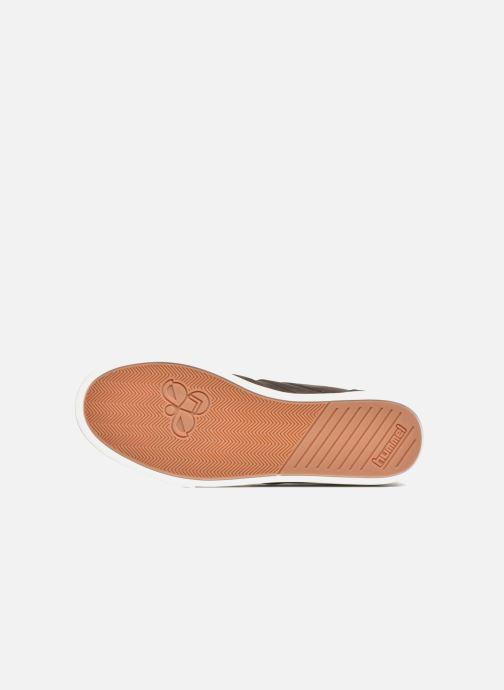 Sneaker Hummel Ten Star Mono Oiled High braun ansicht von oben