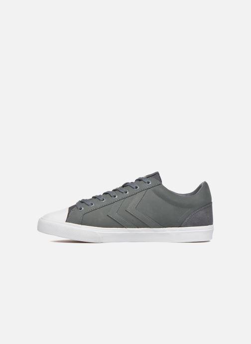 Sneaker Hummel Baseline Court Leather grau ansicht von vorne