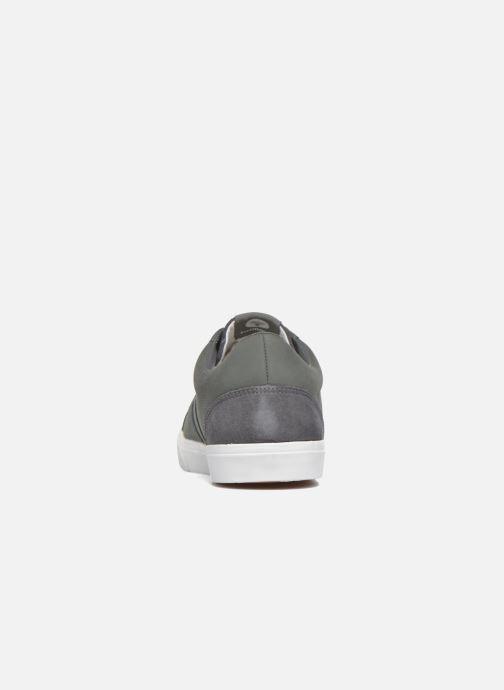 Sneaker Hummel Baseline Court Leather grau ansicht von rechts