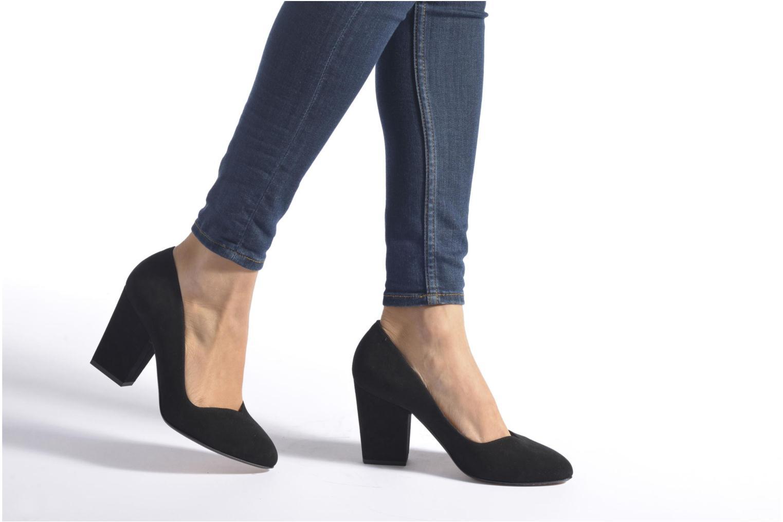 High heels Sonia Rykiel Pump Black view from underneath / model view