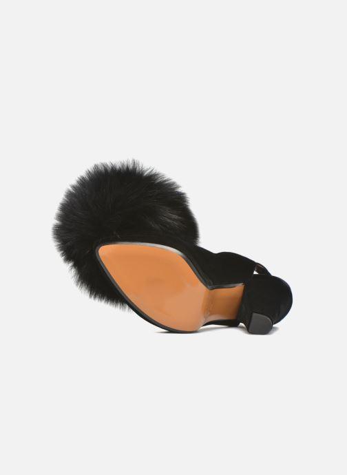 Zapatos de tacón Sonia Rykiel Plateforme Pompon Negro vista de arriba