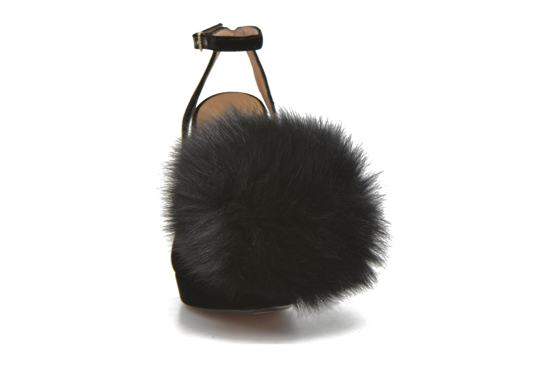 High heels Sonia Rykiel Plateforme Pompon Black model view