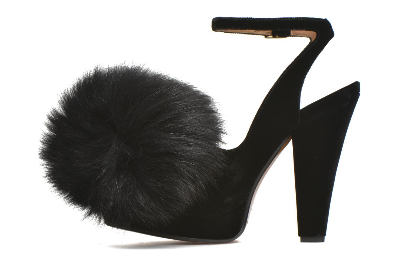 High heels Sonia Rykiel Plateforme Pompon Black front view
