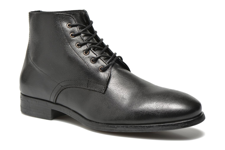 chez chez chez JJ amp; amp; amp; boots Black Jones Jazzy Jack Ankle Boot Leather zxOwz