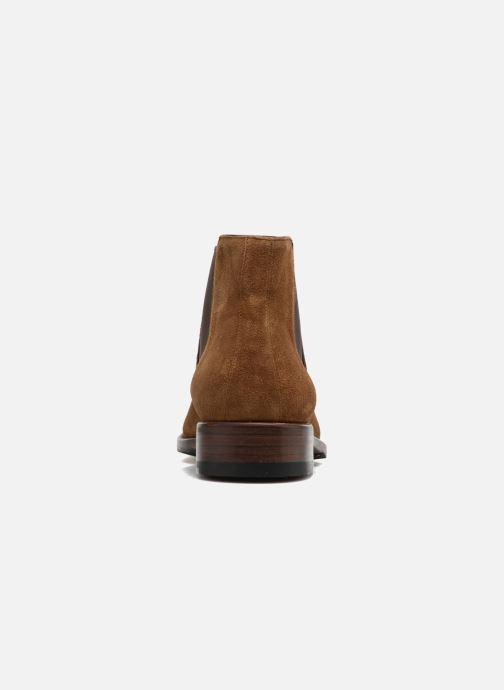 Bottines et boots Jean-Baptiste Rautureau Ron Jodpur Piping Marron vue droite