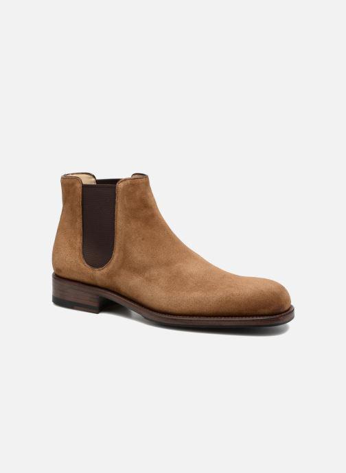 Bottines et boots Jean-Baptiste Rautureau Ron Jodpur Piping Marron vue détail/paire